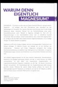 Warum Magnesium 21